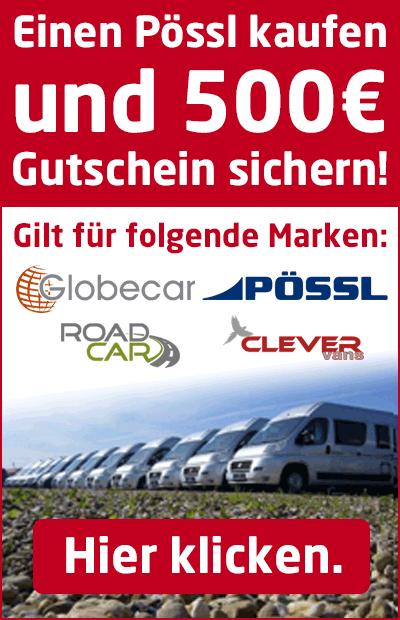 Pössl, Globecar, Clever und Roadcar günstig kaufen.
